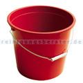 Kunststoffeimer, Wassereimer 10 L rot