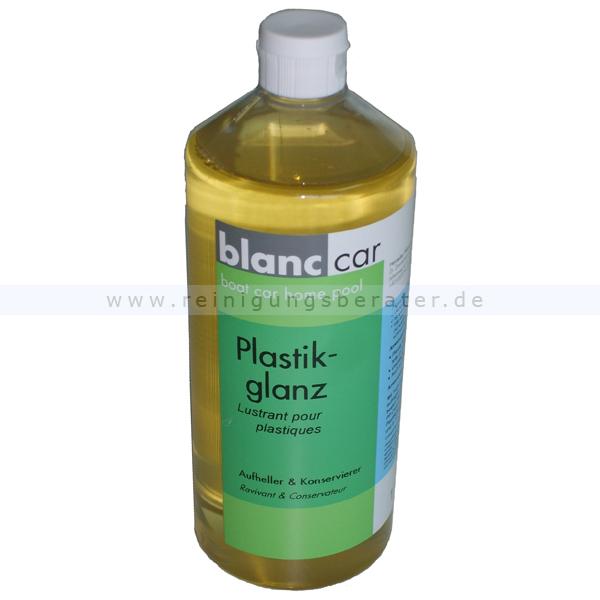 Kunststoffpflege Blanc Car Plastikglanz -Silikonfrei 1 L Kunststoffe + Plastik Außenteile glänzen wieder 300330