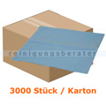 Lätzchen Abena Dental Einweglätzchen 37 x 38 cm blau Karton