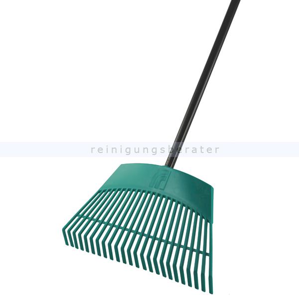 Sorex Laubbesen ca. 30 cm Laubrechen Kunststoff mit Metallstiel 130 cm 11100