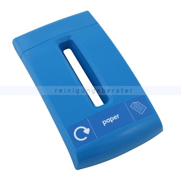 Leafield Papierdeckel für Mülleimer Envirobin Blau für Mini und Midi Envirobin 31063826