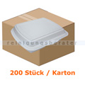 Lebensmittelschalen, Menübox aus Styropor 200 Stück