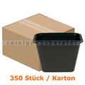 Lebensmittelschalen, Plastikschalen schwarz 900 ml, 350 Stück