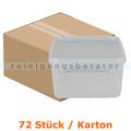 Lebensmittelschalen, Stapelbehälter groß transparent, 120 Stück