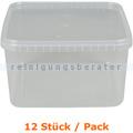 Lebensmittelschalen Stapelbehälter groß transparent 12 Stück