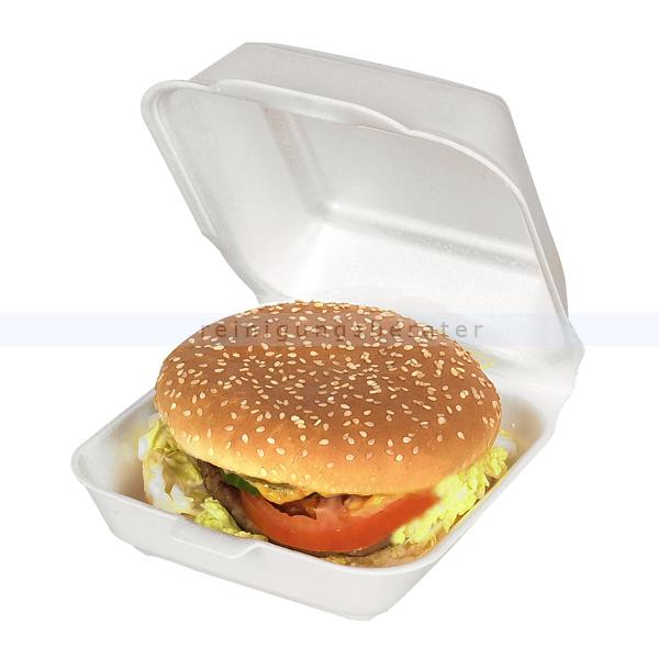 lebensmittelschalen thermo burger box wei 500 st ck. Black Bedroom Furniture Sets. Home Design Ideas