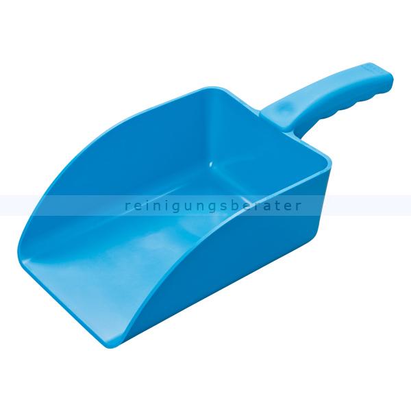 Haug Handschaufel groß blau Lebensmittelschaufel geeignet nach HACCP & lebensmittelecht 89222