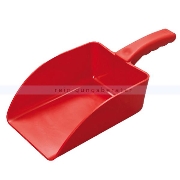 Haug Handschaufel groß rot Lebensmittelschaufel geeignet nach HACCP & lebensmittelecht 89221