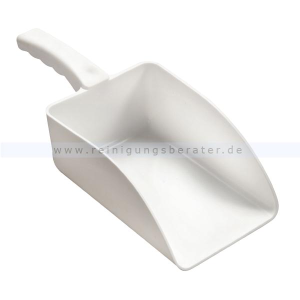 Haug Handschaufel groß weiß Lebensmittelschaufel geeignet nach HACCP & lebensmittelecht 8922
