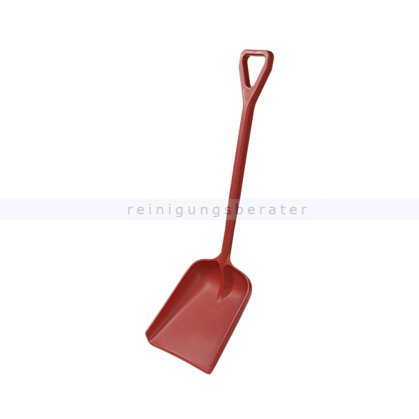 Haug Schaufel groß rot Lebensmittelschaufel geeignet nach HACCP & lebensmittelecht 89201