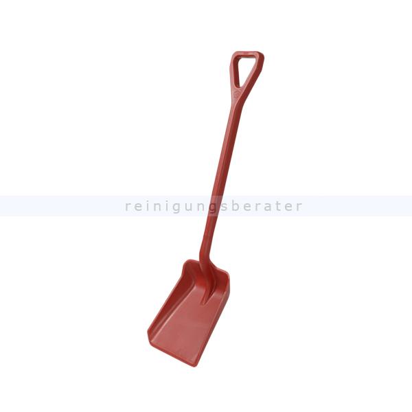 Haug Schaufel klein rot Lebensmittelschaufel geeignet nach HACCP & lebensmittelecht 89211
