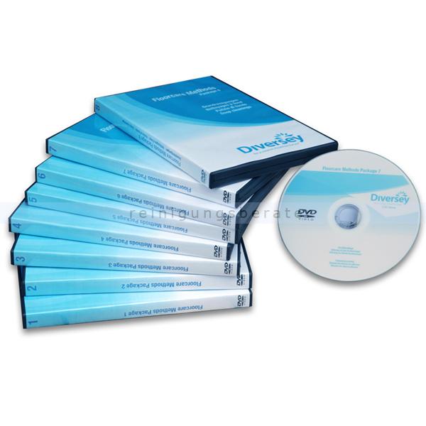 Lehrvideos Diversey Floorcare Methods and Systems Paket 5 Marmorschleifen/Nass- und Spraykristallisieren 7515326