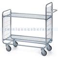 Leiterwagen Serie 100, max. 200 kg 2 Etagen 1380x460x1120 mm