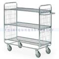 Leiterwagen Serie 100, max. 200 kg 3 Etagen 1380x460x1120 mm