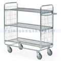 Leiterwagen Serie 100, max. 200 kg 3 Etagen 930x460x1120 mm