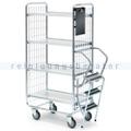 Leiterwagen Serie 100, max. 200 kg 4 Etagen 1020x460x1585 mm