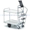 Leiterwagen Serie 200, max. 300 kg mit 2 Etagen