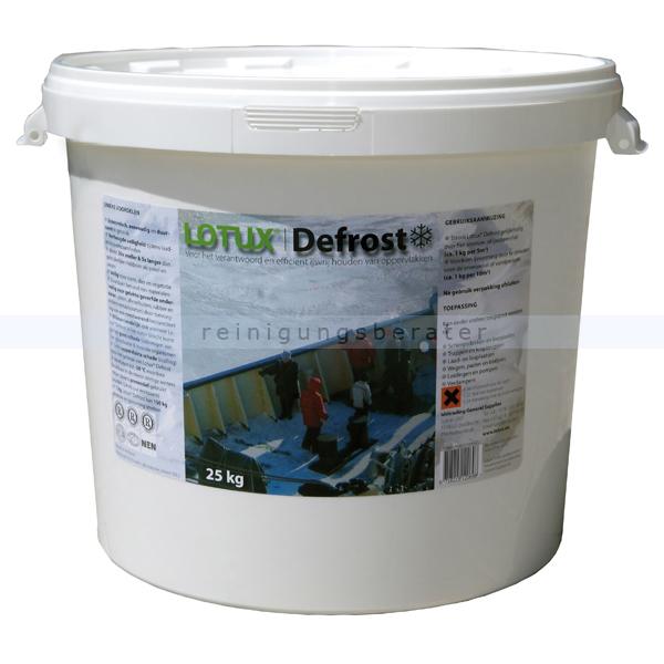 Lotux Defrost, hochwertiges Auftaugranulat 25 kg Eimer
