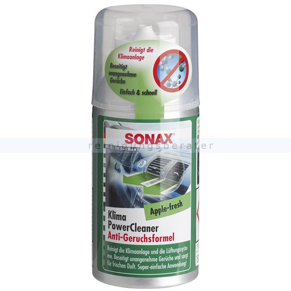 SONAX Klima Power Cleaner antibakteriell, 100 ml Lüftungssystemreiniger, antibakteriell 03231000