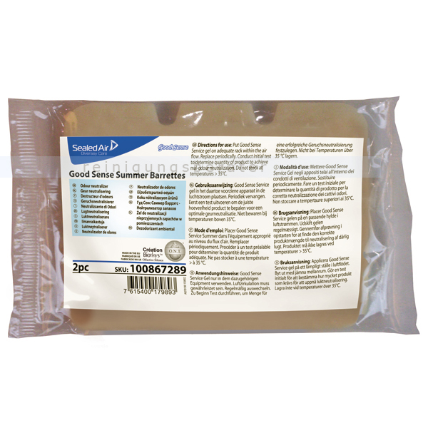 Lufterfrischer Diversey Good Sense Chef Barrettes für die Good Sense Lufterfrischer Säule, 2 Stück im Pack 7513692