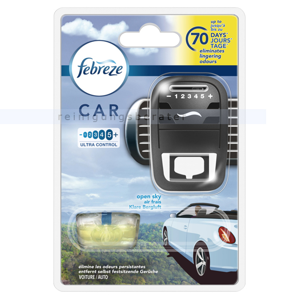 febreze car premium klare bergluft starterkit. Black Bedroom Furniture Sets. Home Design Ideas