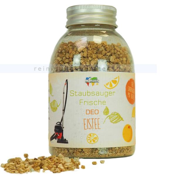 Lufterfrischer für Staubsauger Numatic Eistee 250 ml Duftgranulat, Frische Deo, bis zu 10 Anwendungen 100803