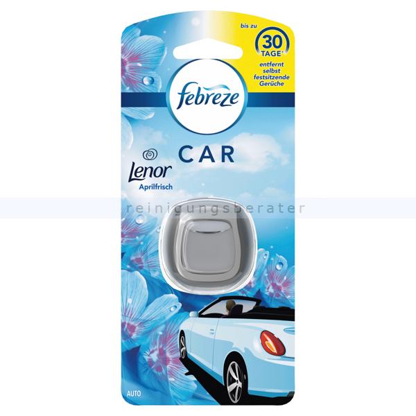 Procter and Gamble Lufterfrischer P&G Febreze Car Lenor Aprilfrisch 30 Tage konstante Frische in Ihrem Auto FE6781