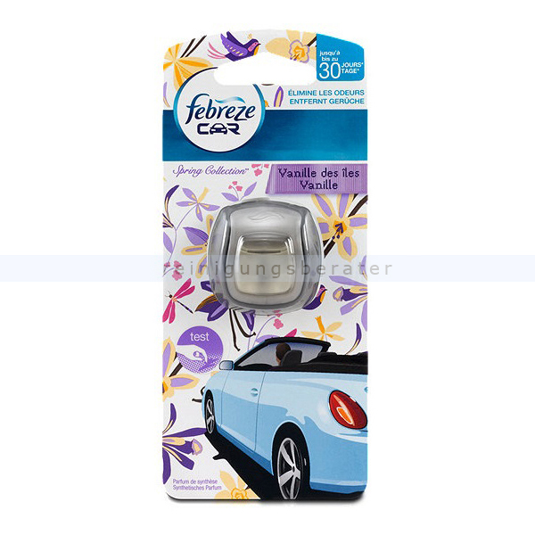 febreze car vanilla. Black Bedroom Furniture Sets. Home Design Ideas