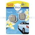 Lufterfrischer P&G Febreze Car Vanille Duo-Pack