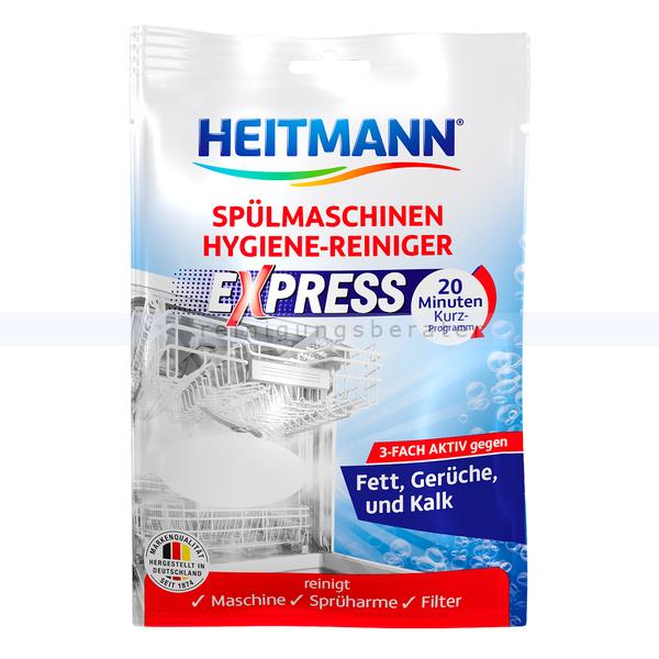 Brauns Heitmann Express-Spülmaschinen-Hygienereiniger 30 g entkalkt, reinigt und sorgt für eine frische Spülmaschine 3280