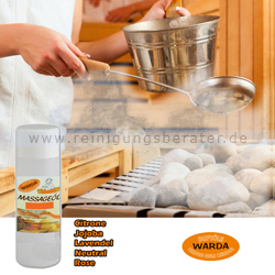 Massageöl Warda Jojoba 200 ml