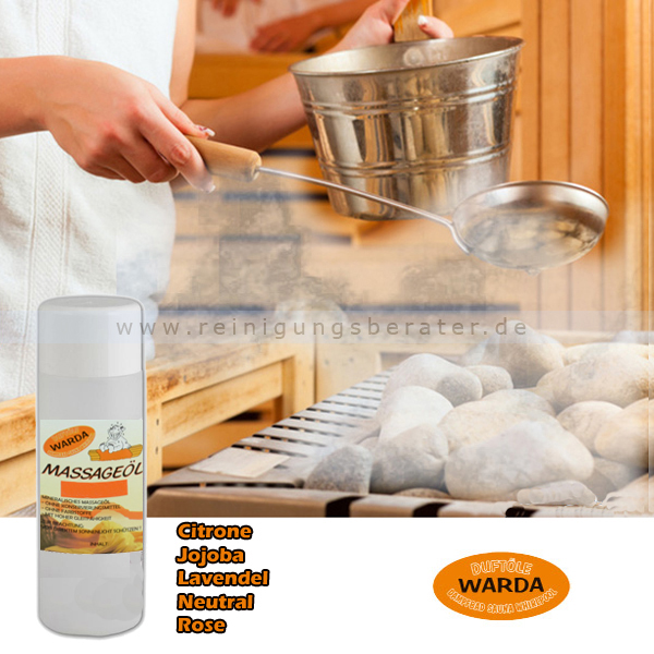 Massageöl Warda Rose 200 ml