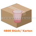 Medizinbecher Ampri 30 ml rot