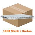 Menüschalen Deckel Aluminium Prägung 1 1000 Stück Karton