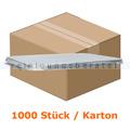 Menüschalen Deckel Aluminium Prägung 3 1000 Stück Karton