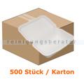Menüschalen NatureStar BIO Lunchbox weiß 500 Stück