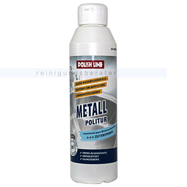 Langguth Metallpolitur Metallpolitur KR55 250 ml Metallpolitur für Kochfelder und Edelstahlflächen 12256