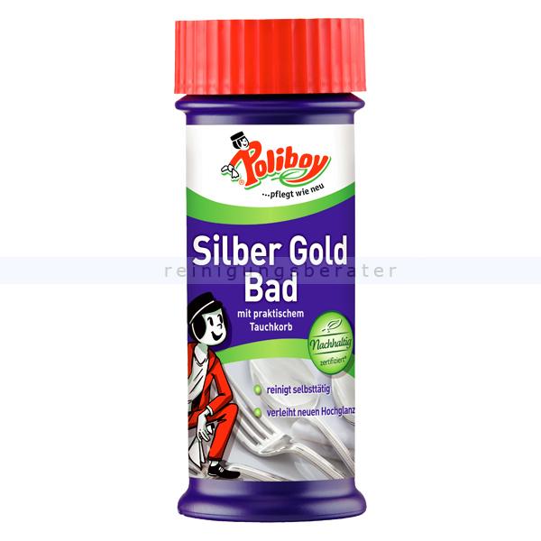 Metallpolitur Poliboy Silber Gold Bad 375 ml für Silber, Versilbertes und Gold 8237501