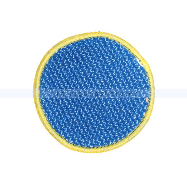 Microfaserpad Mopptex SANI Reinigungspad Rundpad gelb