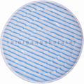 Microfaserpad PolyPad blau-weiß 100 mm 3,75 Zoll