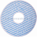Microfaserpad PolyPad blau-weiß mit Innenloch 10 Zoll 85 mm
