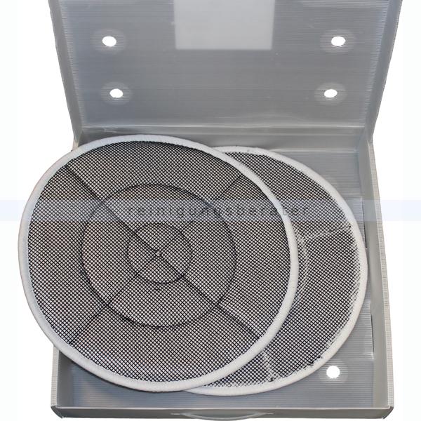 Trocknungspad Solution Glöckner Charly 430 mm 17 Zoll 1 Set bestehend aus 2 Stück, Trocknungspads für Textilien