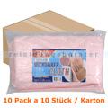 Microfasertuch Abena ENA Platin 32 x 32 cm rosa Pack Karton