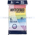 Microfasertuch Abena Multi Color Pack 8 Stück 30x30 cm