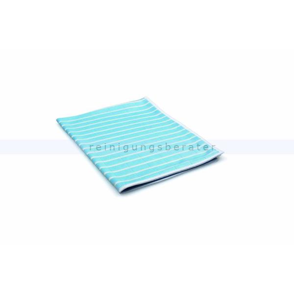 ReinigungsBerater Microfasertuch Bambus 48x36 cm blau mit antibakterieller Wirkung durch Bambusfaser 460.100.304