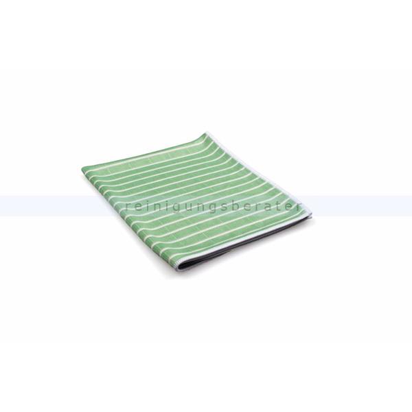 ReinigungsBerater Microfasertuch Bambus 48x36 cm grün mit antibakterieller Wirkung durch Bambusfaser 460.100.302