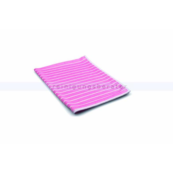ReinigungsBerater Microfasertuch Bambus 48x36 cm rosa mit antibakterieller Wirkung durch Bambusfaser 460.100.303