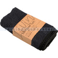 Microfasertuch Ena Living schwarz 30x30 cm 2er Set