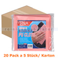 Microfasertuch ENA Ultra Tex PU Tuch 37x38 cm rot Karton