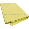 Microfasertuch Fenstertuch gelb 32x38 cm